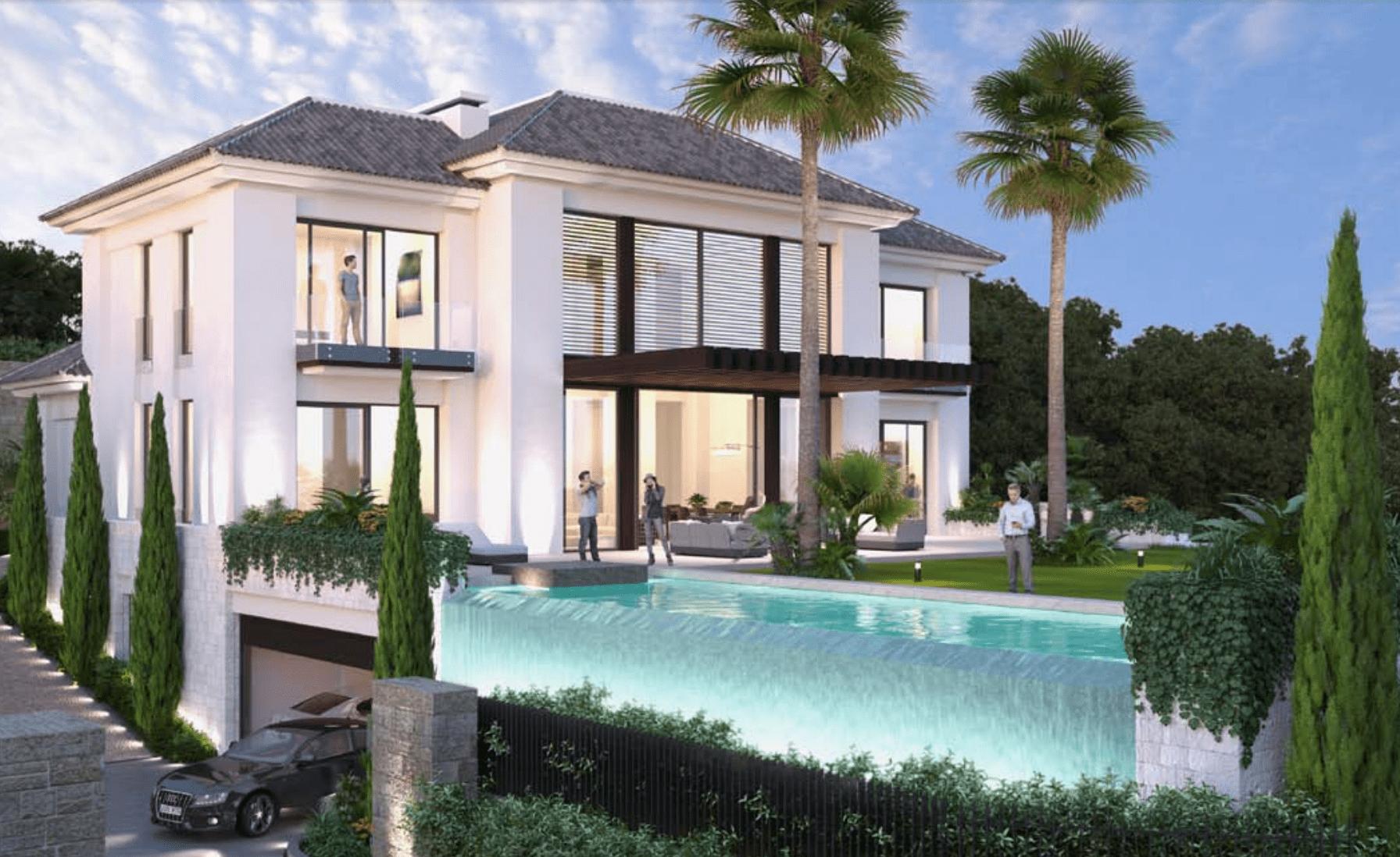 Benahavis incredible villa moderne de pr t fin 2016 for Villa moderne 2016