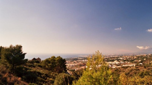 Marbella plots for sale with panoramic sea views