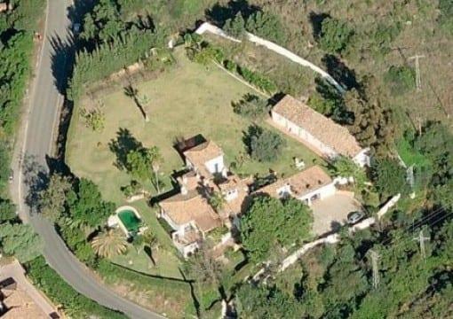 Marbella villa on 5000m2 plot