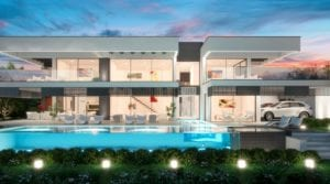 Nueva Andalucia 2 x modern villas.Next to each other