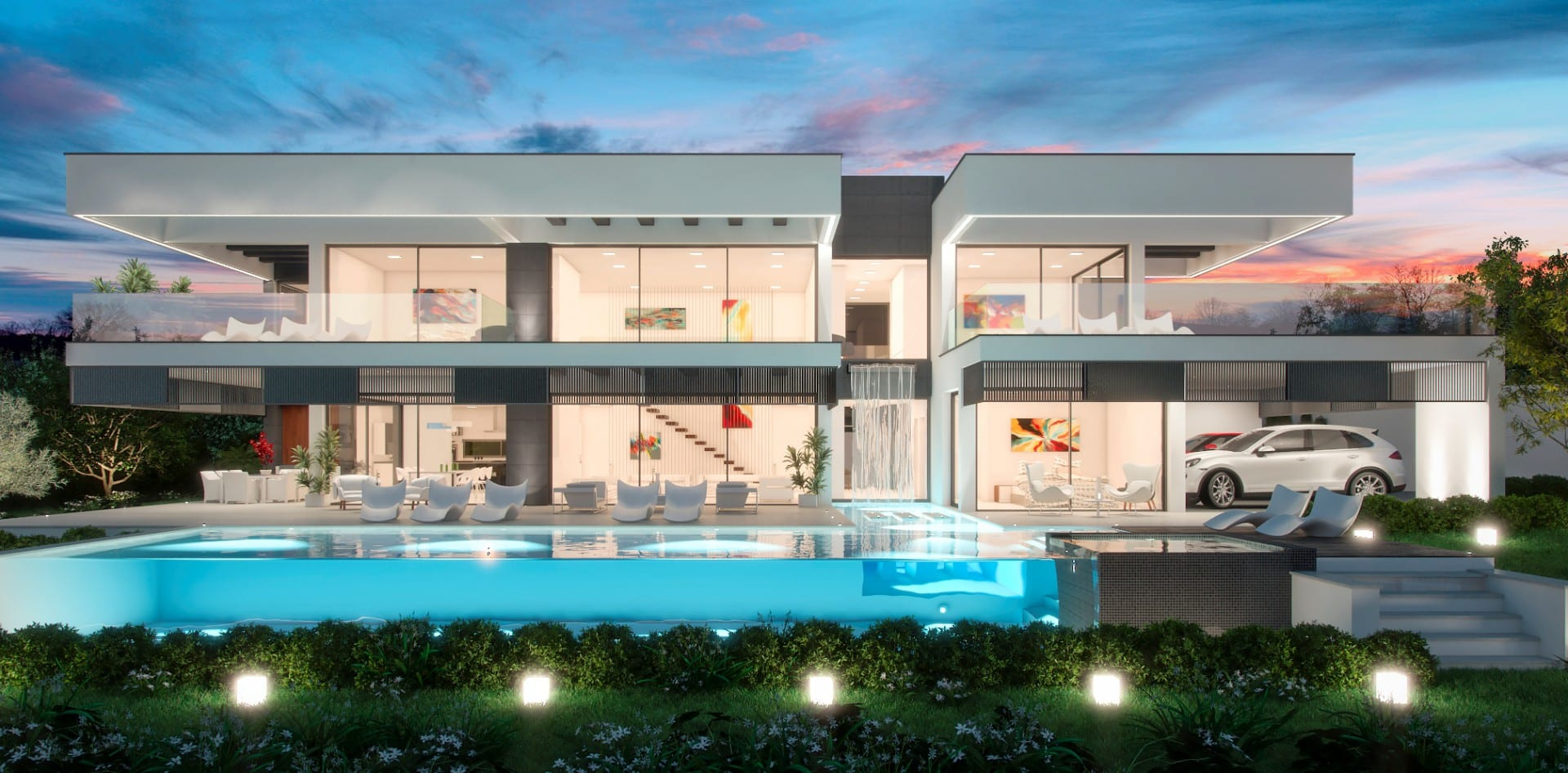 Nueva andalucia 2 x modern villas next to each other - Villa de star a vendre ...
