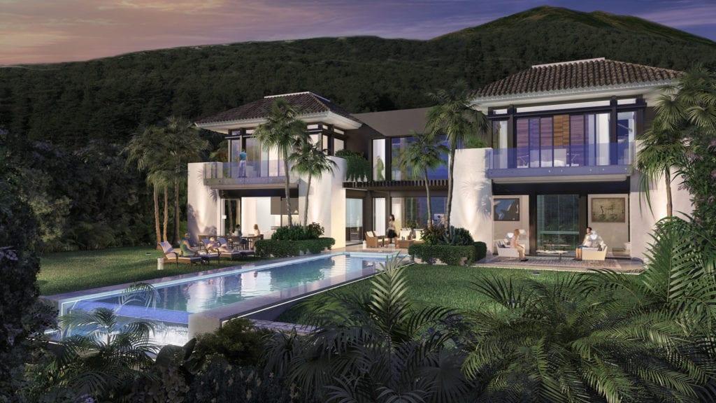 Nueva andalucia villa moderne dans un emplacement for Ville super moderne