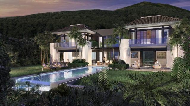 Nueva Andalucia modern villa in prime location