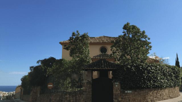 Marbella Villa with seaviews €1.05million