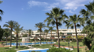 Puerto Banus.Investment apartment with garden and pool
