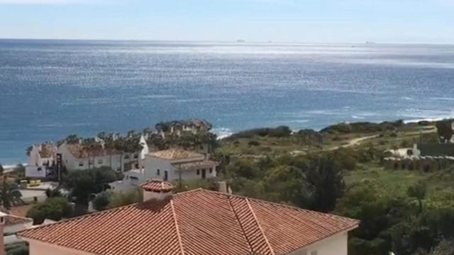West of Estepona.Modern Sea View villa for sale