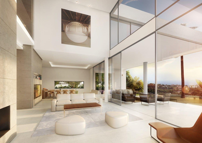 Moderne villen von innen  Marbella Ost Off plan Villen, holen Sie besitzen Design ...