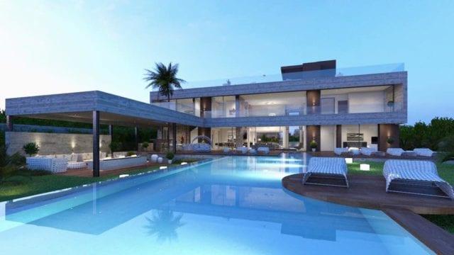 Modern contemporary villa Nueva Andalucia – Marbella