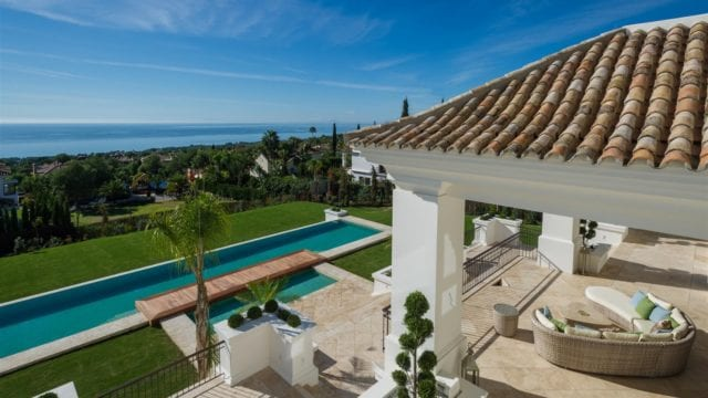 Sierra Blanca mansion for sale with sea views