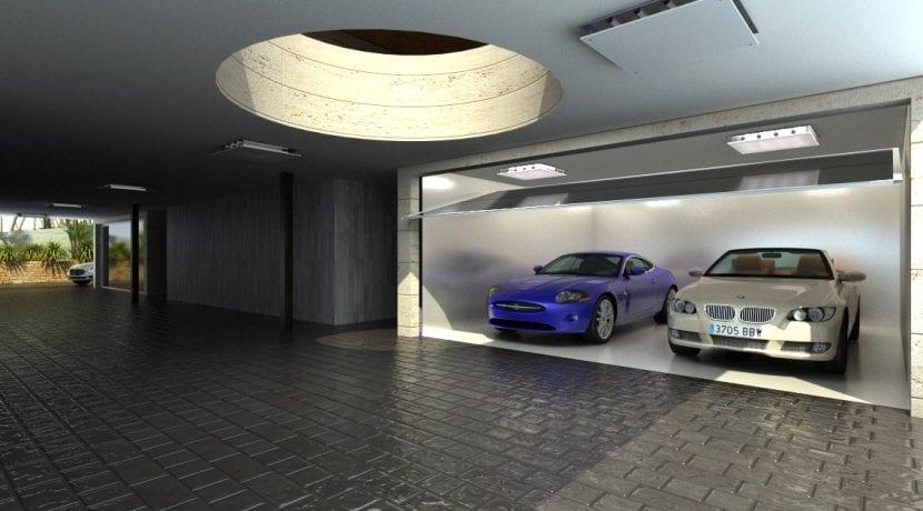 Villa moderne marbella hillside - Rampas de garaje ...
