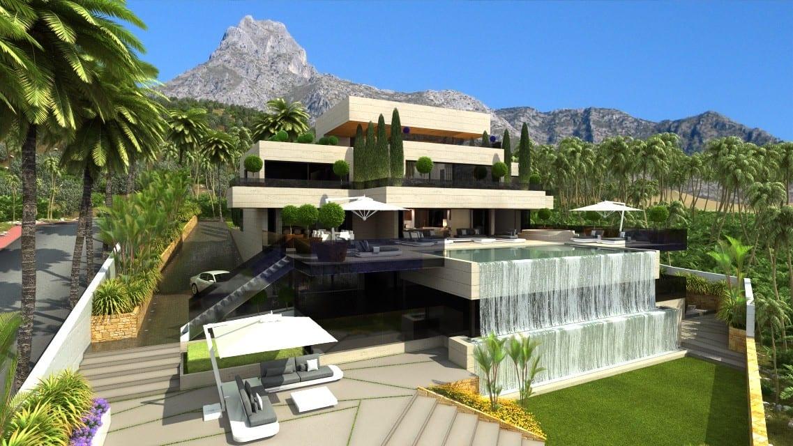 Modern Villa Marbella Hillside Agent4stars Com