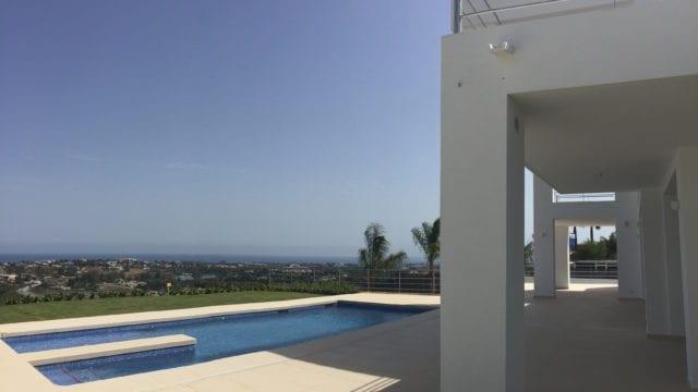 SOLD Benahavis new modern villa in gated community