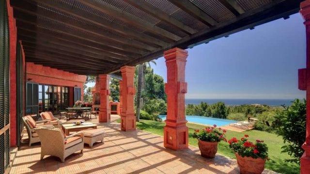La Zagaleta Andalucian style villa with sea view