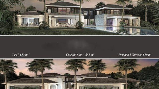 Near Puerto Banus modern Villa ready 2019