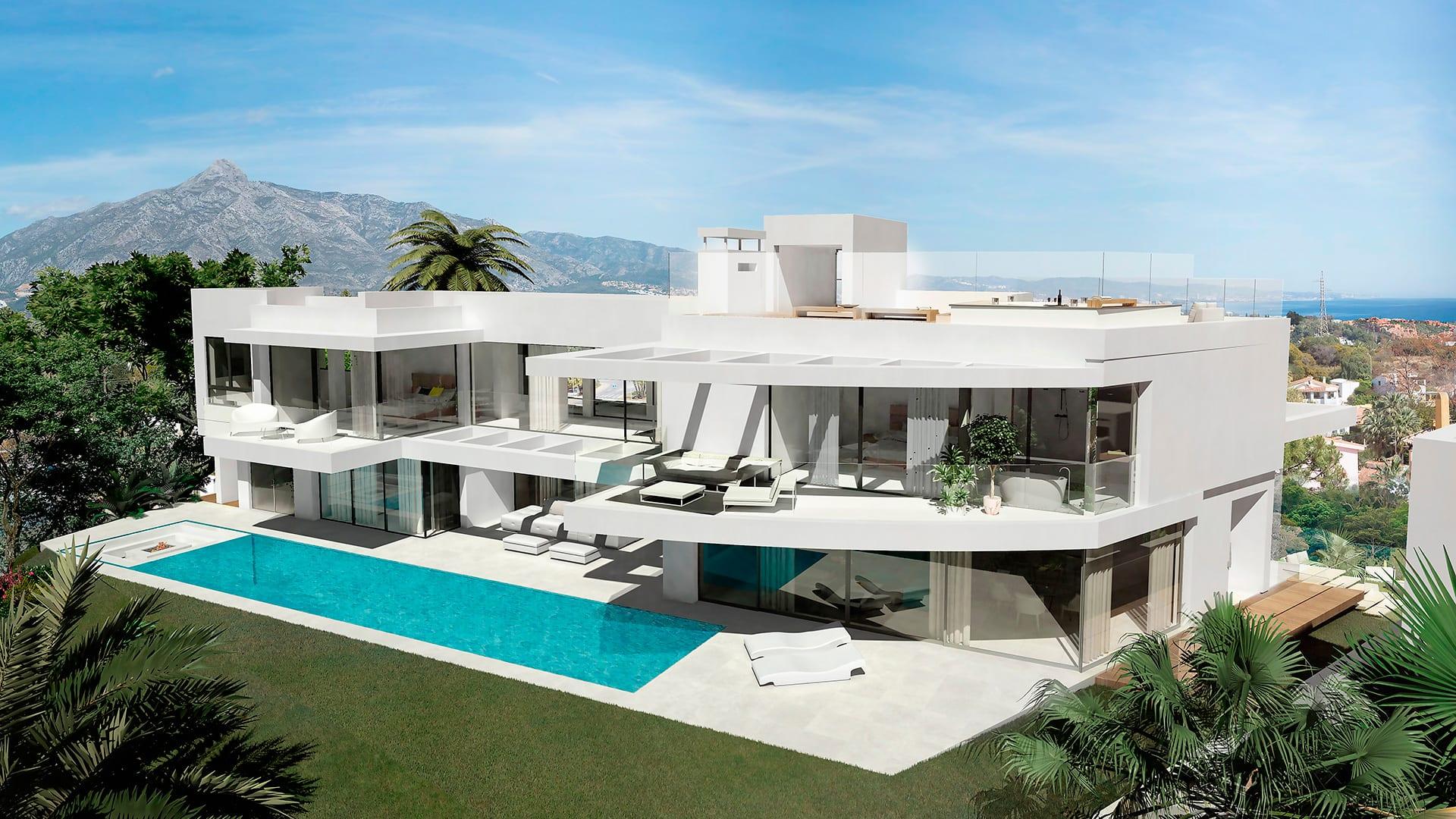 modern villas marbella then - photo #33