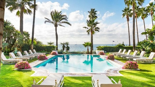 Rent villa del Mar Marbella Golden mile