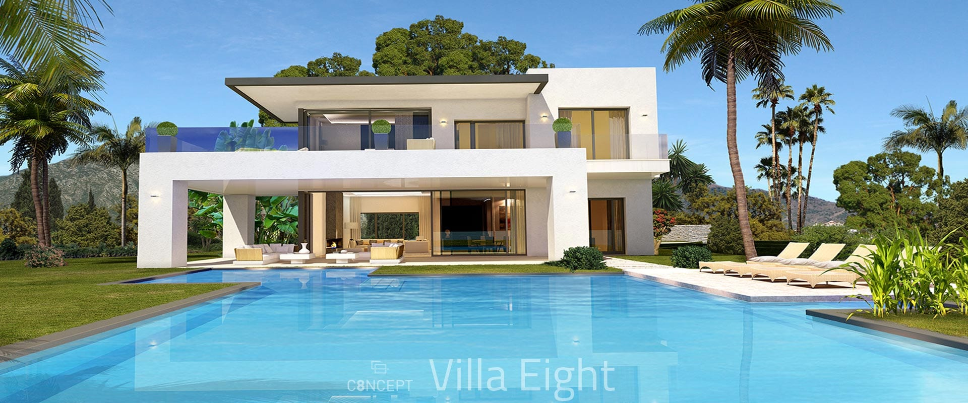 Golden Mile Marbella Small Gated Villa Community Offplan