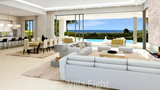 Golden Mile Marbella.Small gated villa community – offplan