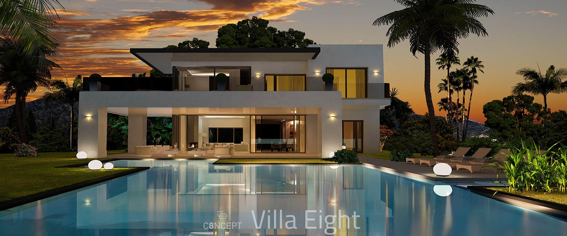 Golden Mile Marbella Small Gated Villa Community Offplan