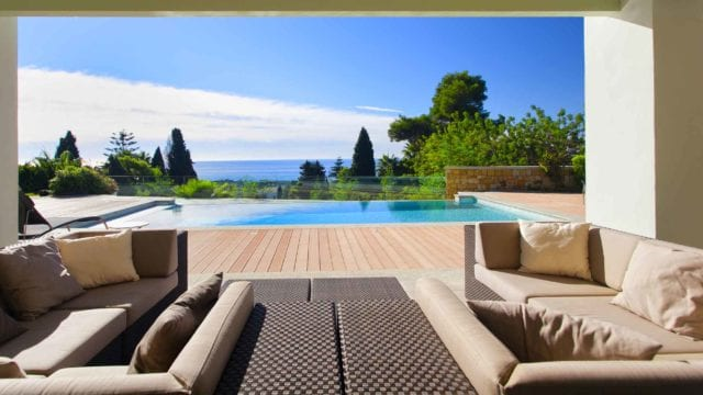 SOLD Golden Mile.New Sea view villa build with high qualities