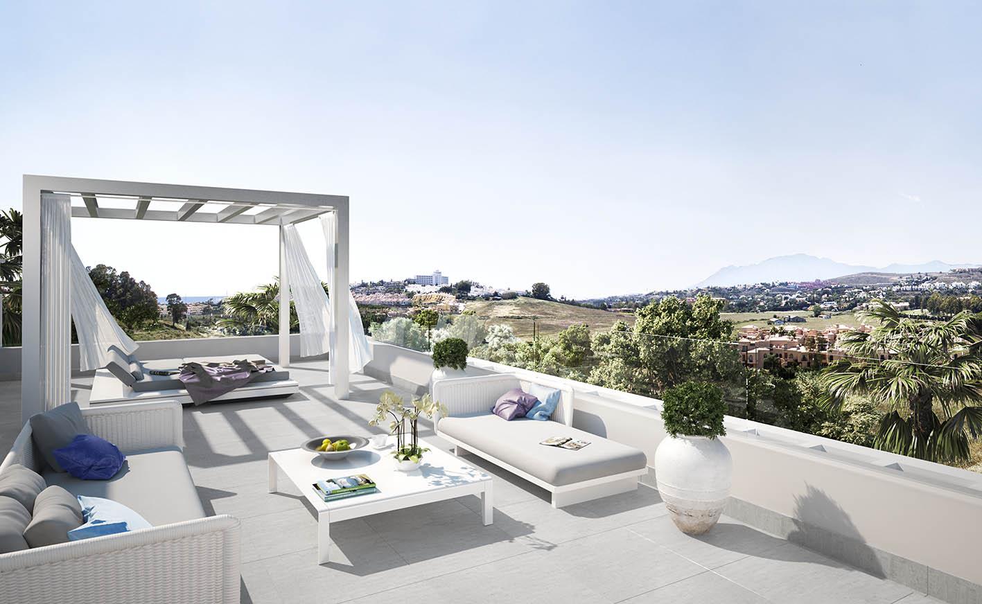 Benahavis Costa del sol.New moderne Entwicklung 40 Luxus ...