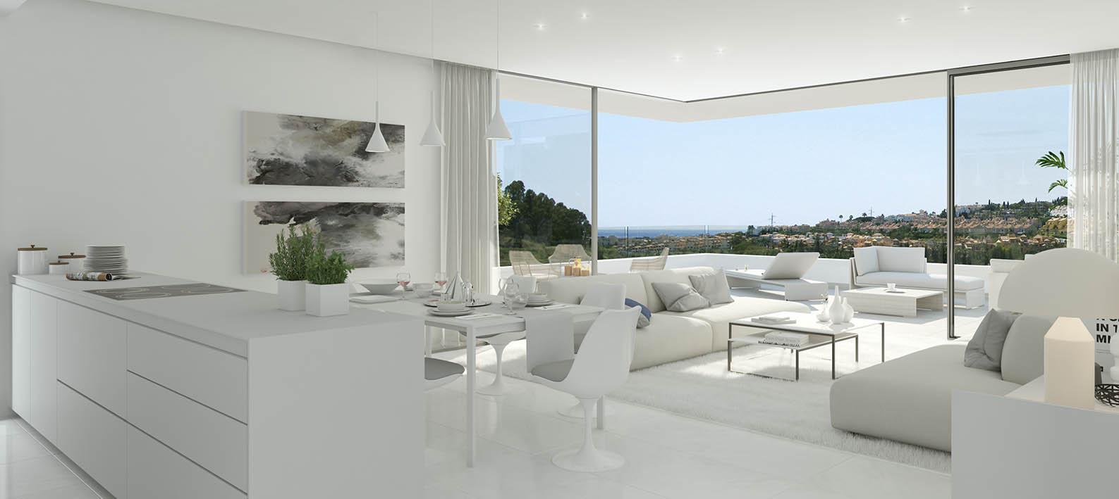 Benahavis Costa del sol.New moderne Entwicklung 40 Luxus-Wohnungen ...