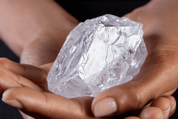 The 1,109-carat Lesedi La Rona rough diamond
