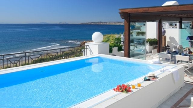 Costa del Sol.Beachfront Penthouse 5 bedrooms seaviews
