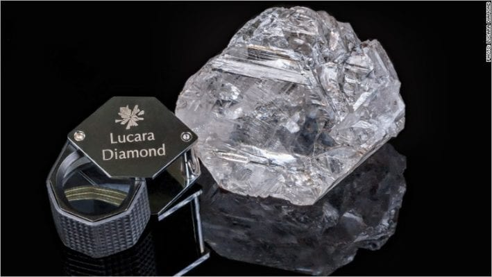 Lucara Sold the 813 Carat Diamond for US$63 Million to Nemesis International