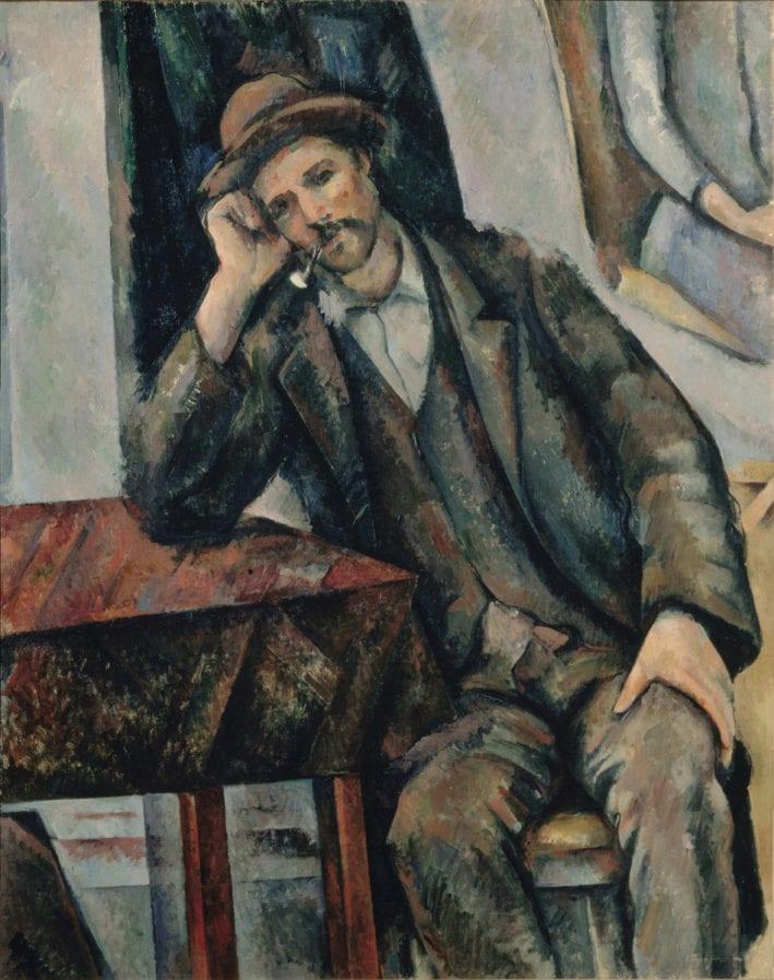 Cezanne Le Fumeur