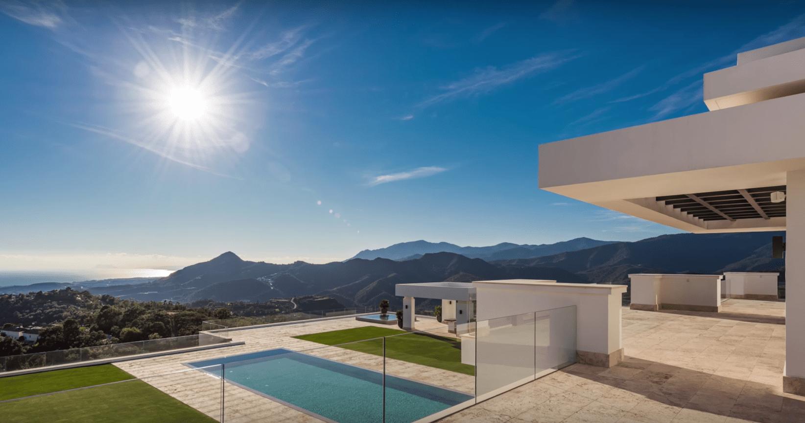 La zagaleta brand new modern mansion for sale for Modern mansions for sale