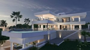 Reduced – Nueva Andalucia modern villa with sea views