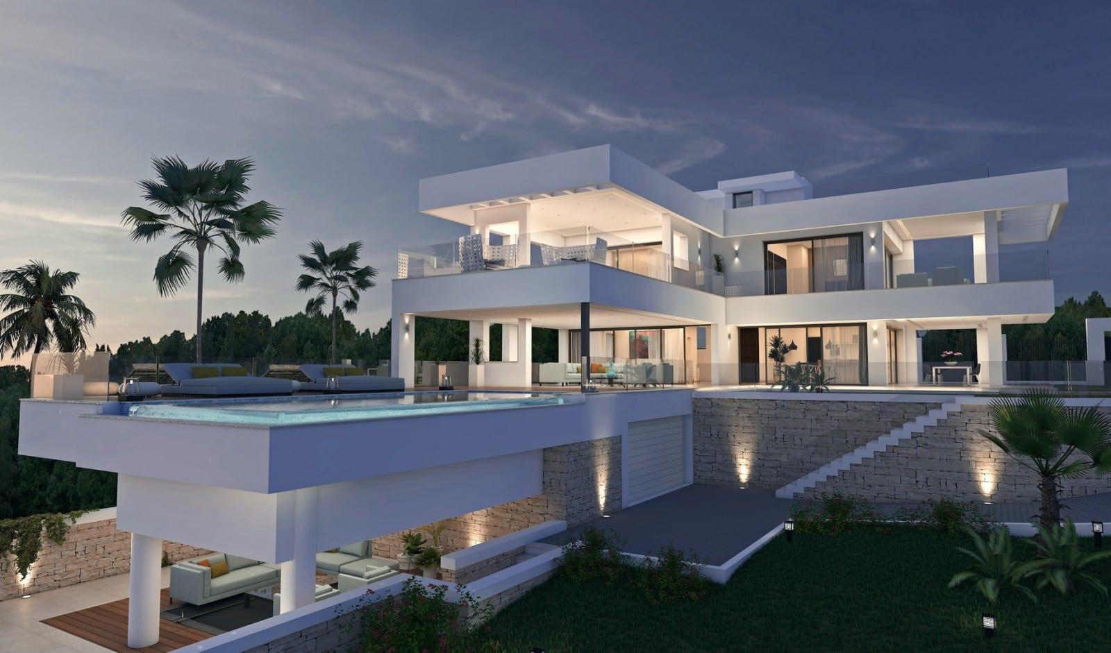 Vendu construire villa moderne similaire nueva andalucia for Construire villa