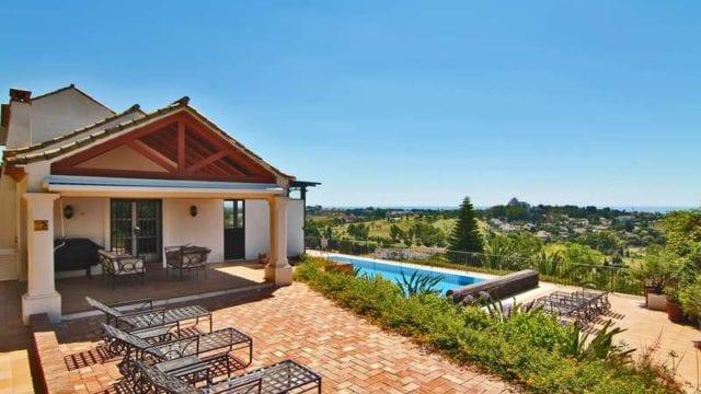 Reduced El Paraiso golf villa with panoramic Sea & Coastal views