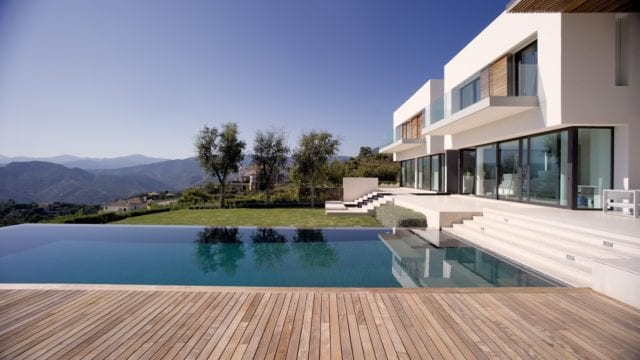 La Zagaleta modern villa on elevated plot panoramic views