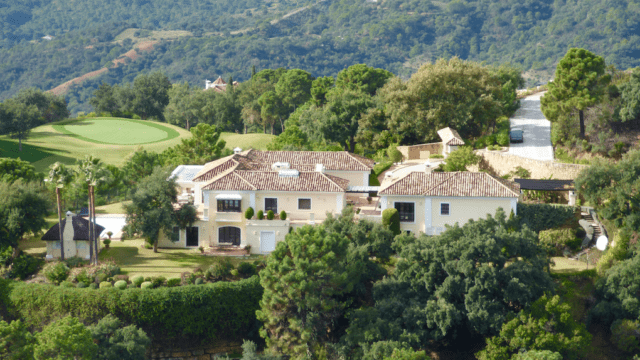 La Zagaleta quality villa on good plot for sale