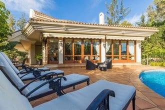 Benahavis villa in Gated community