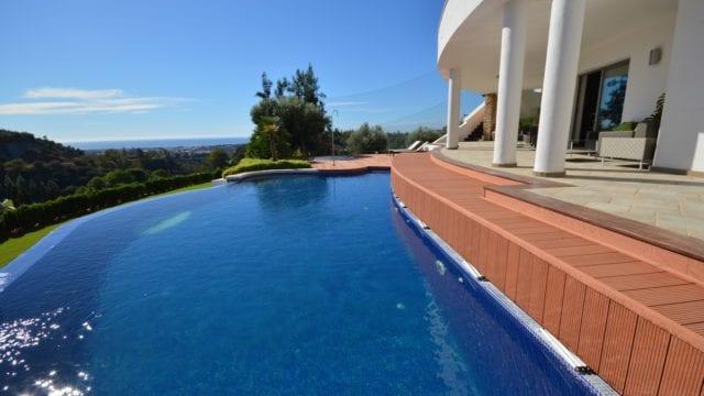 Benahavis Contemporary Villa with Sea and Golf views