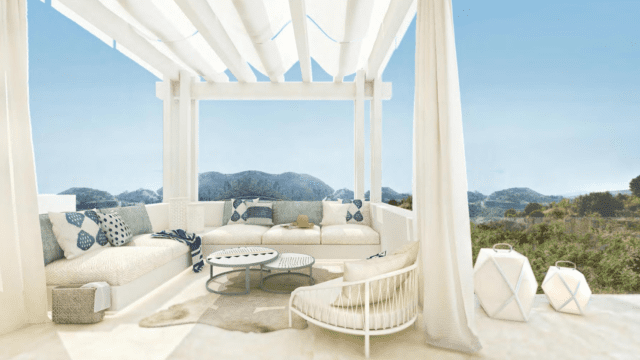 Benahavis development with luxury villas and apartments