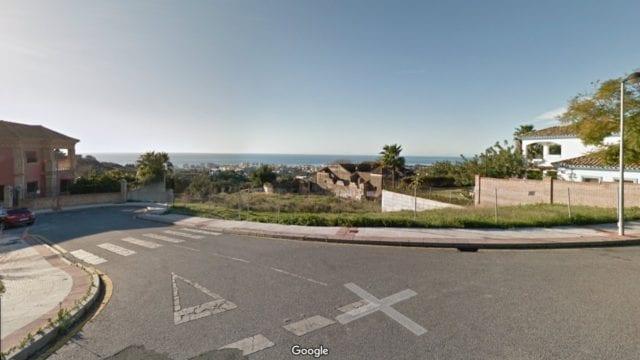 Marbella Sea view plot for sale