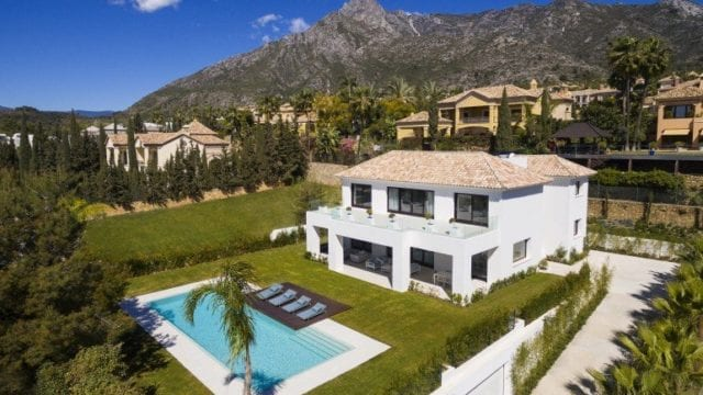 Sierra Blanca brand new Modern villa for sale