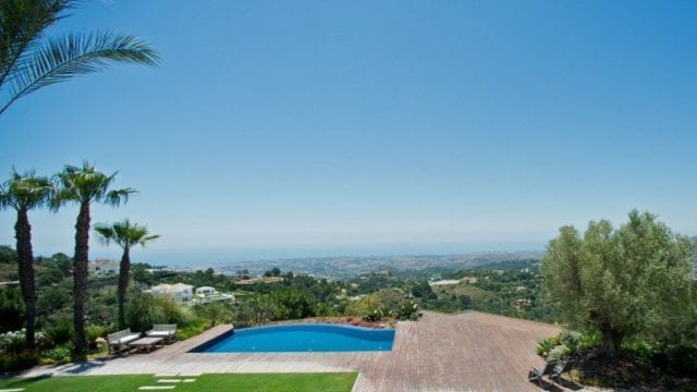 La Zagaleta 7 bedroom villa with sea views hilltop