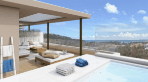 Benahavis Modern off plan apartments ready july 2018 with sea views