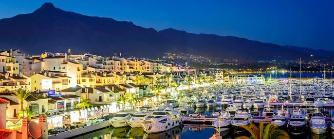 Puerto banus penthouse and boat for sale euros for Puerto banus costa del sol