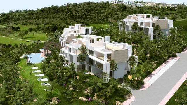 Benahavis new modern apartments Completion Q1 2018.
