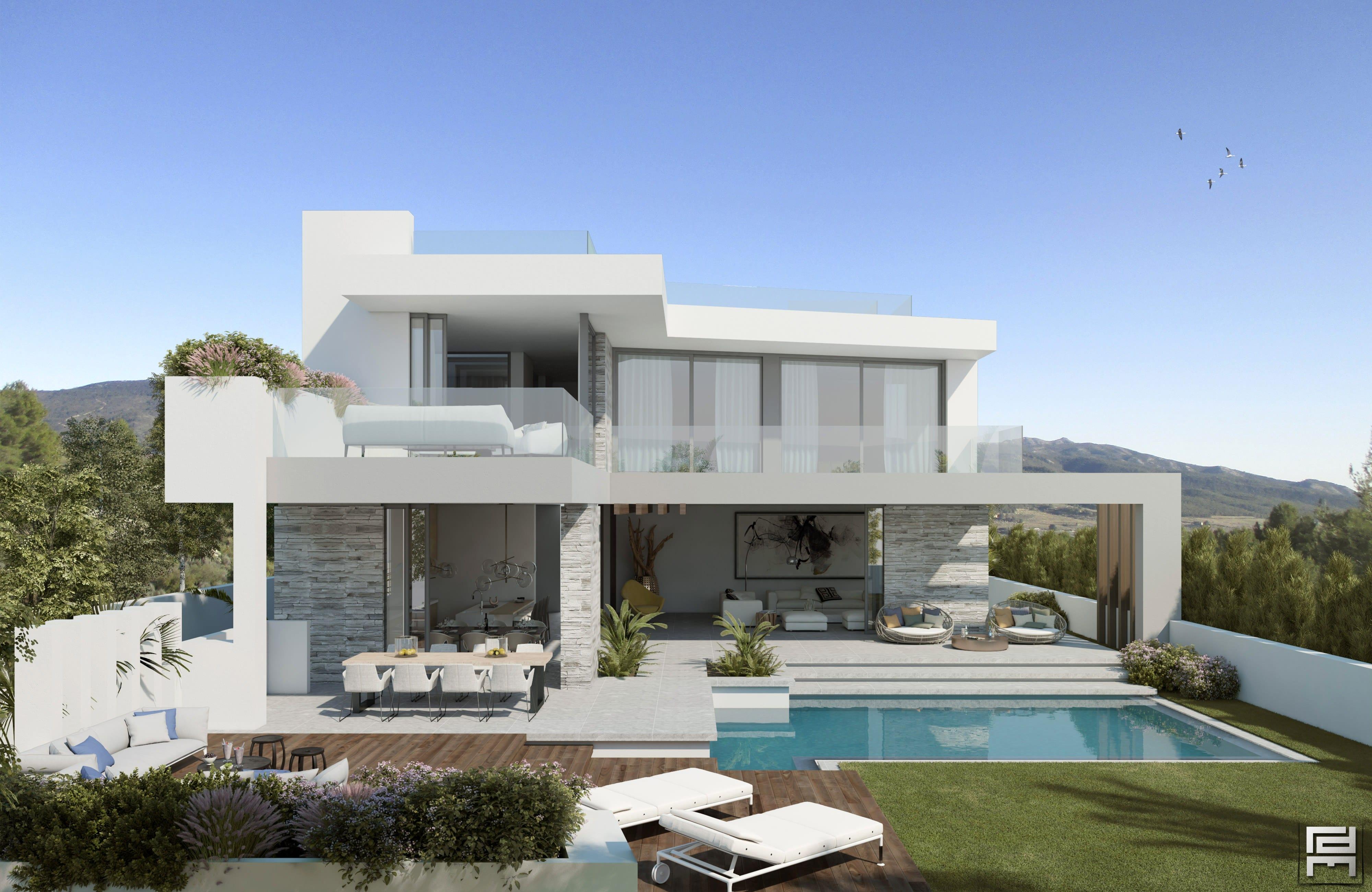 modern villas marbella then - photo #20