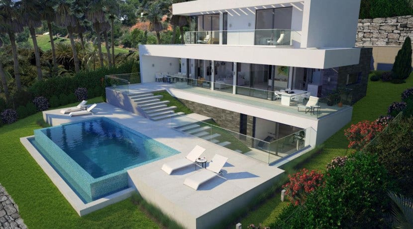 Benahavis New Modern Villas Sea Views Gated Community