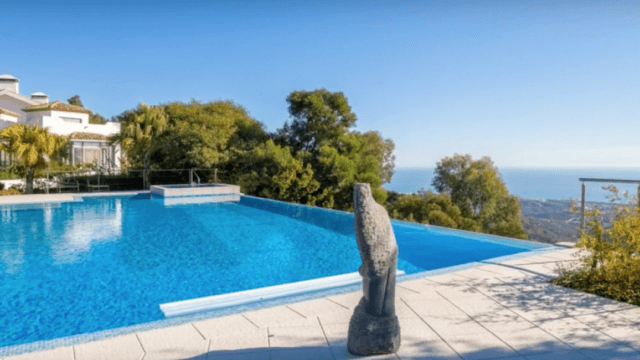 Reduced – Elviria Hillside luxury finca with Sea views