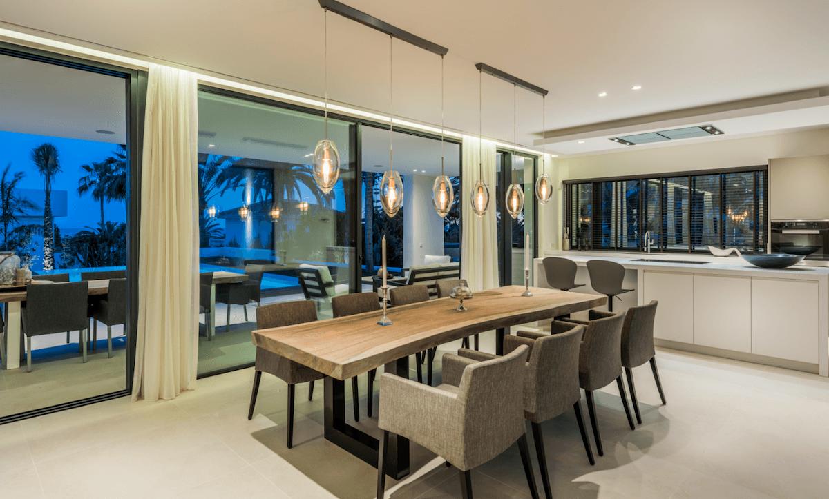 Marbella east modern new villa for sale near Beach