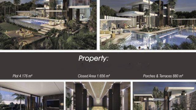 Golden Mile large modern off plan luxury villa for sale